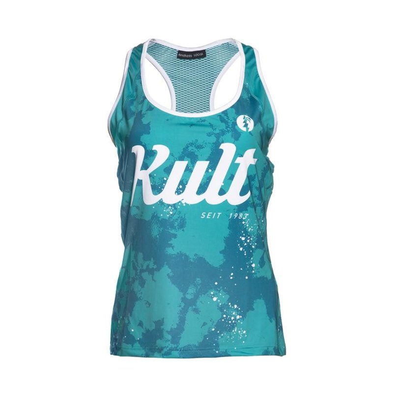 AT Tank Top Woman turquoise